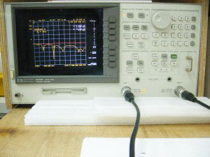 HP Vector Network Analyzer
